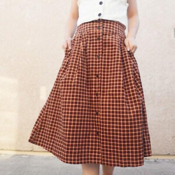 e73c522b06 Uniqlo Skirts | Nwt Idlf Corduroy Printed Skirt | Poshmark